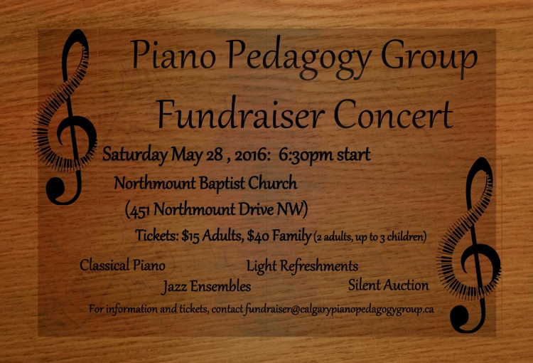 PPG Fundraiser May 28, 2016 Northmount Baptist Church 6:30 PM